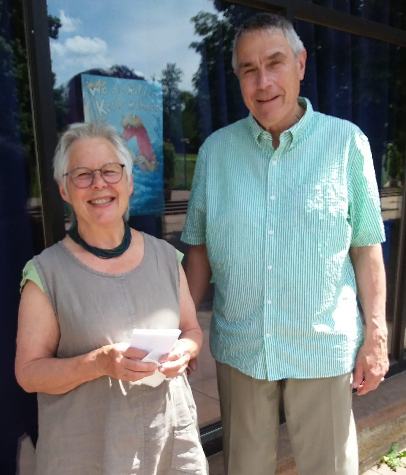 Der Vorstand: Antonie Fröhlich und Stefan Kuntze